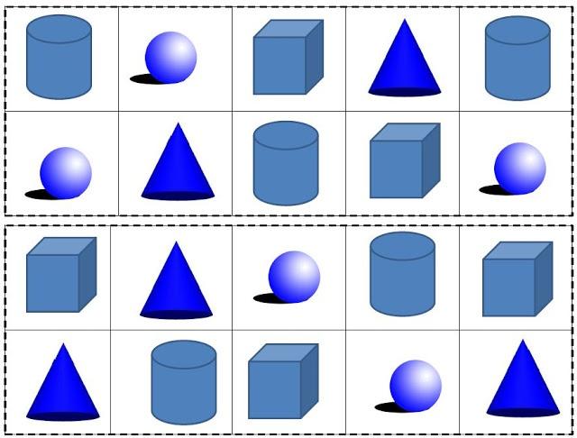61 best K5 3D Shapes images on Pinterest | 3d shapes activities ...