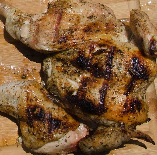 """Spatchcocking and Butterflying Poultry  In addition to getting browning on both sides, when you spatchcock you can season all sides more evenly, it cooks faster with less loss of moisture, carving is easier, it looks impressive, and it is just plain fun to say """"spatchcock""""."""