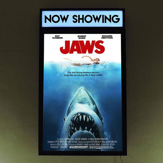 Movie Poster Light Box Light Up Movie Poster Frame Poster