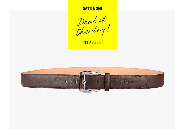 Gattinoni: cintura uomo con fibbia in metallo, 100% vera pelle. http://titalola.click/36209