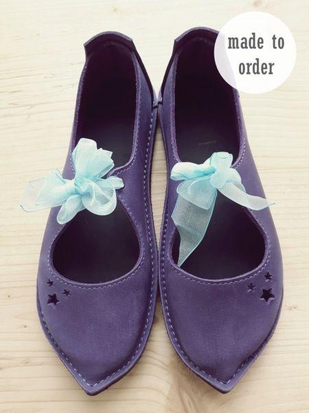 Fairy Shoes. Modellen Clara, Luna, Esther en Judy zijn geschikt voor brede voeten. Image of ESTHER Shoes, Made to Order