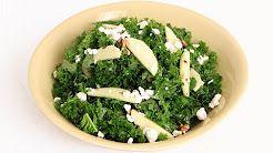 apple kale salad - YouTube