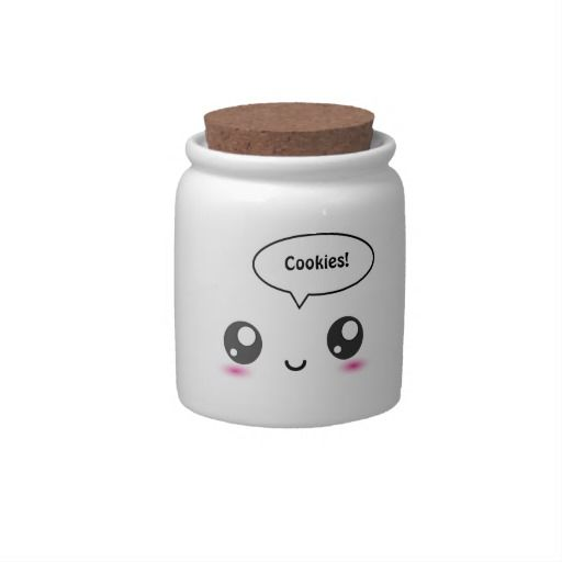 Cute Kawaii Cookie Jar