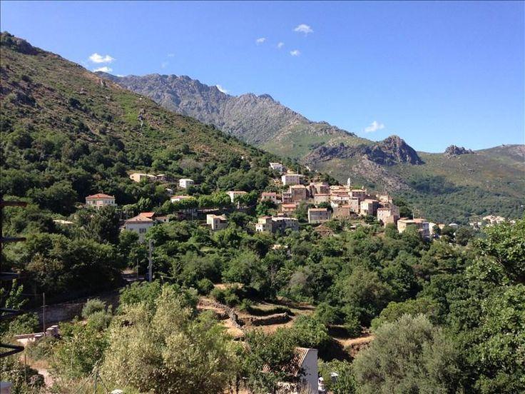 Corsica - A Balagna - La Balagne -  Nessa (en corse Nesce) est une commune du département de la Haute-Corse.