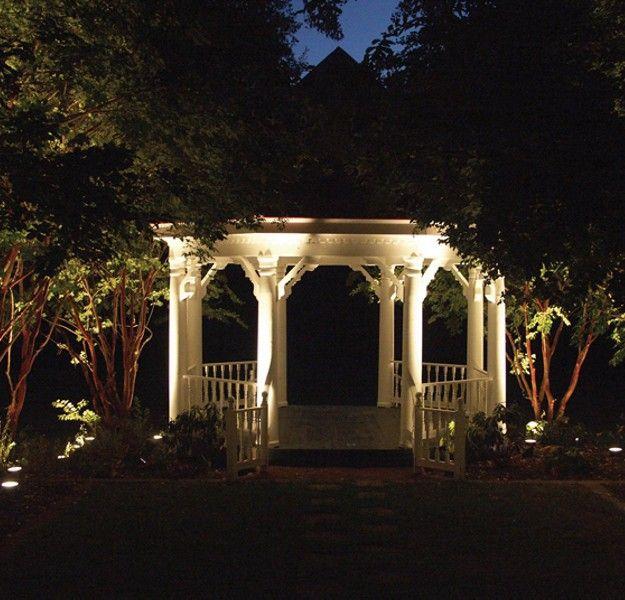 Landscape Lighting Mn: Low Voltage Gazebo Lighting Ideas