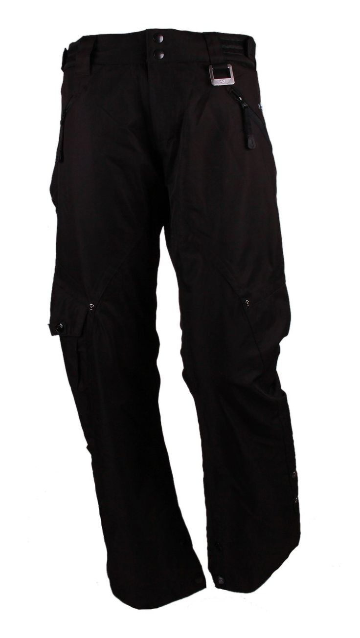 Ocean and Earth Women's Ski and Snow Pants (XLarge, Black).