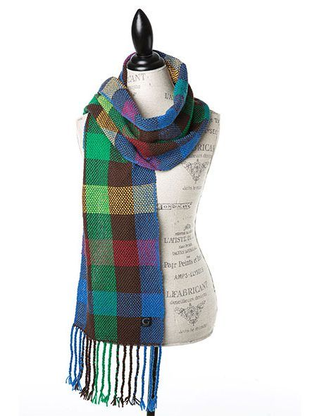 Hand Woven Woollen Scarves Canadiana Collection Rockies by @Goble