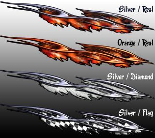 Boat Trailer Race Flame Boat Trailer Wrap Graphics Decal