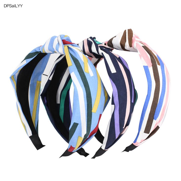 >> Click to Buy << PSaiLYY 3 PC Headwear Headbands for Women Nautical Summer Top Knot Headband Adult 40's Vintage Style Hairband Hair Accessories  #Affiliate