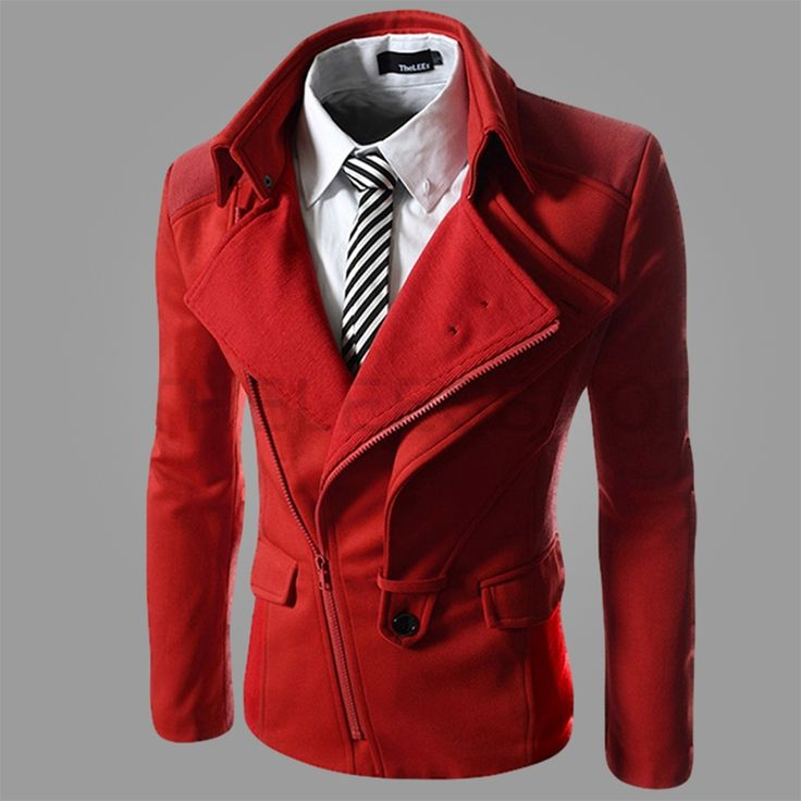 Red dress jacket mens one a day