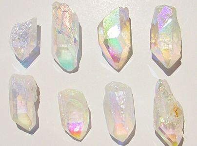 Angel Aura Quartz Crystals, by mangovall