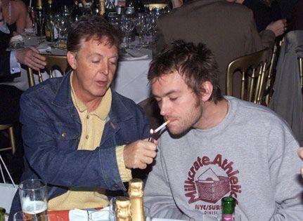McCartney & Albarn