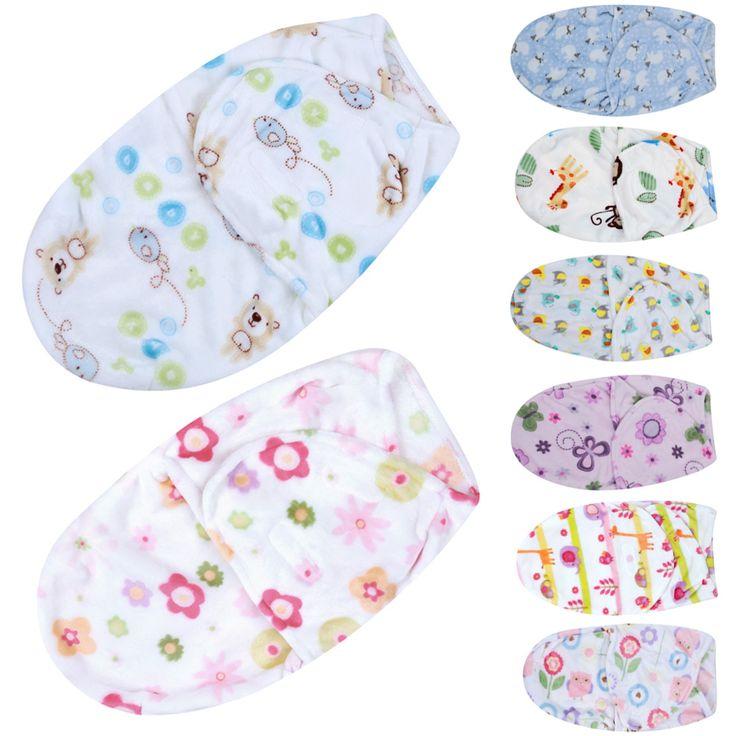 아기 담요 신생아 침낭 유아 단단히 싸는 랩 부드러운 봉투 싸는 아기 침구 세트 0-4 개월