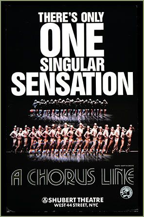 1975 - A Chorus Line at the Shubert Theatre