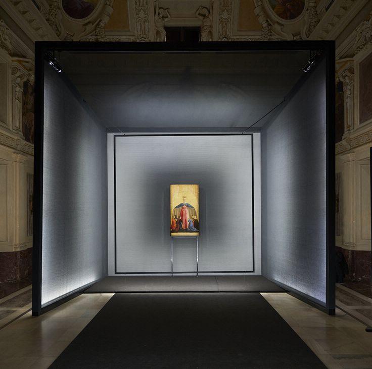 migliore+servetto designs path towards piero della francesca's madonna della misericordia