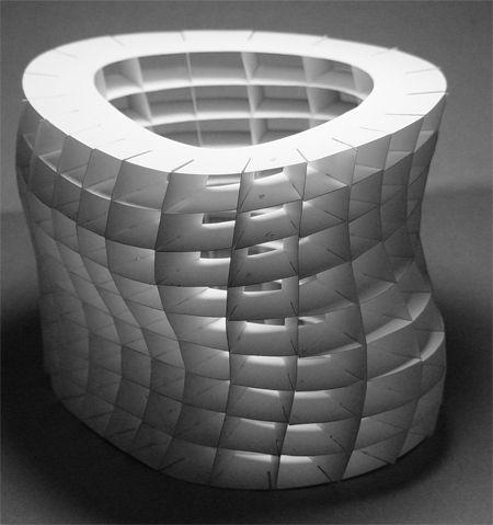 architecture paper model