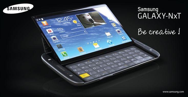 Samsung Galaxy NxT : Un superbe concept de smartphone à clavier coulissant Samsung-Galaxy-NxT-00 – SITE GEEK et HIGH-TECH NWE