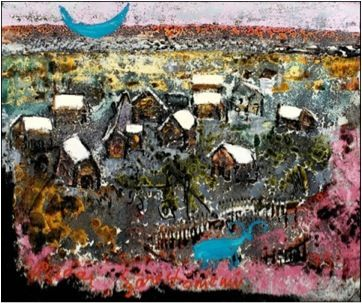 Reidar Särestöniemi, Särestön kylä, 1973