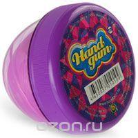 Жвачка для рук Тм HandGum, цвет: светло-фиолетовый, с запахом фруктов и ягод, 70 г