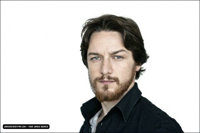 James McAvoy (with a b...