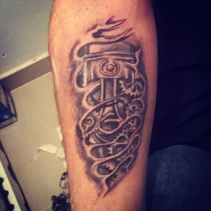 tattoo Piston