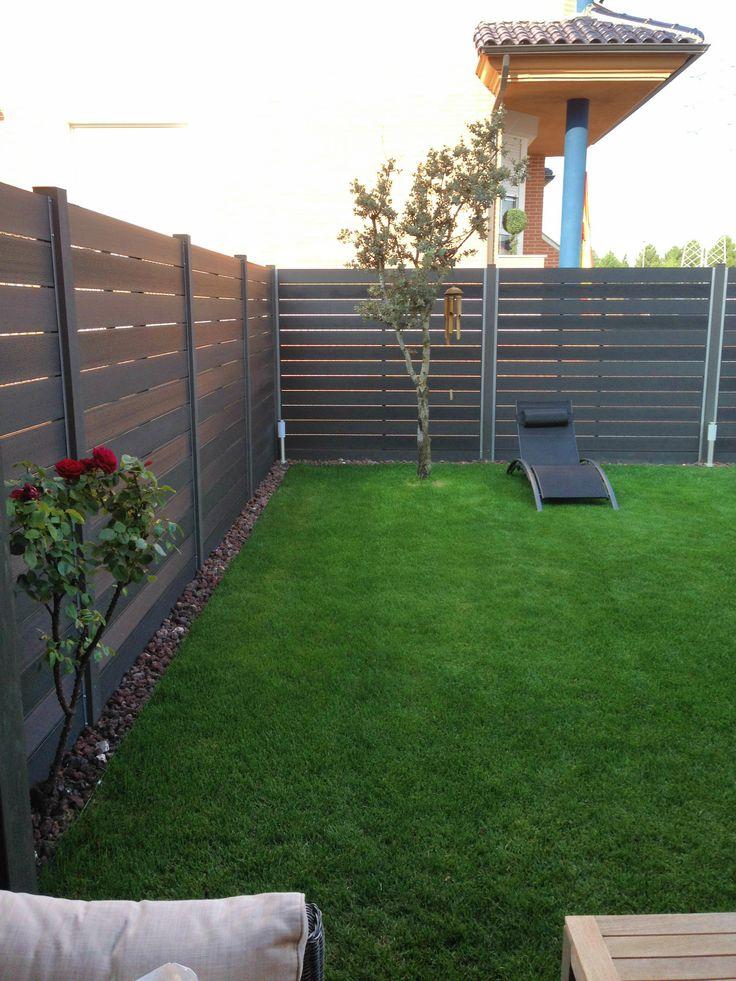 22 best cerramientos y vallados images on pinterest - Cerramientos de jardines ...