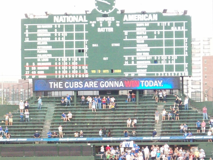 Cubs opening game tomorrow! Can't wait!