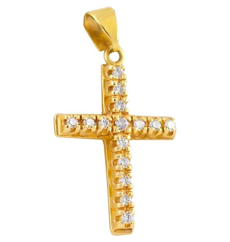 ΣΤ425Τ -Χρυσός σταυρός