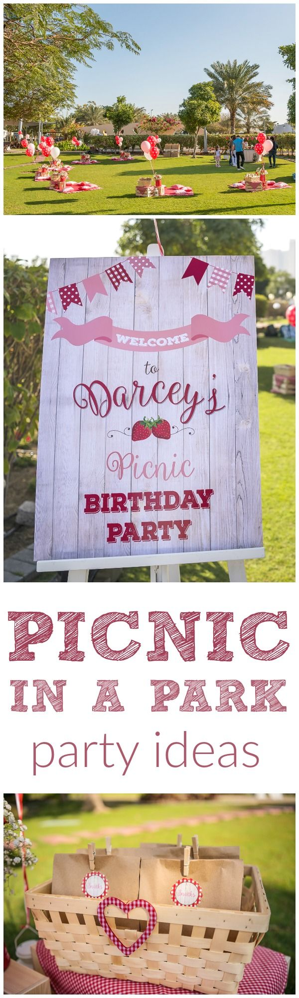 The ultimate Picnic in a Park Party! Stylish picnic party ideas <3.