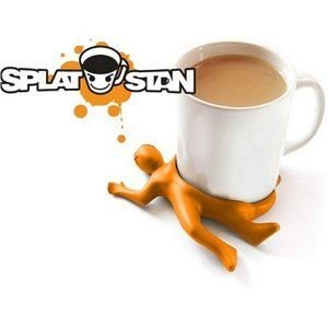 Splat Stan - Silicone Drink Coaster     This is a cute.. ok not cute.. cool gift for men. Another great stress reliever. Just looking at this drink coaster would make him smile. And imagining he splat the guy who keeps getting a raise and whose job he is doing on top of his, is not only way cool - it's beyond cool! Men love gifts like this. Definitely a fun Christmas gift for men.