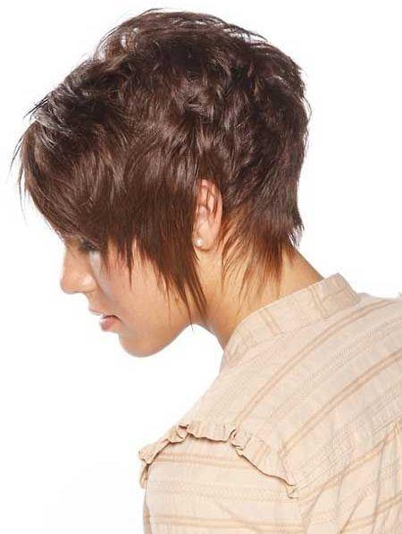 Feathery Short Haircut 2015