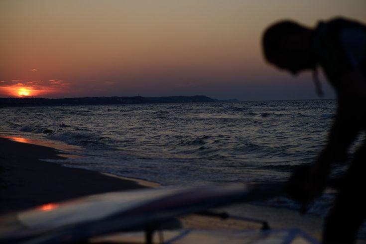 father & daughter windsurfing - portraits — Przemek Skrzypek | Photography