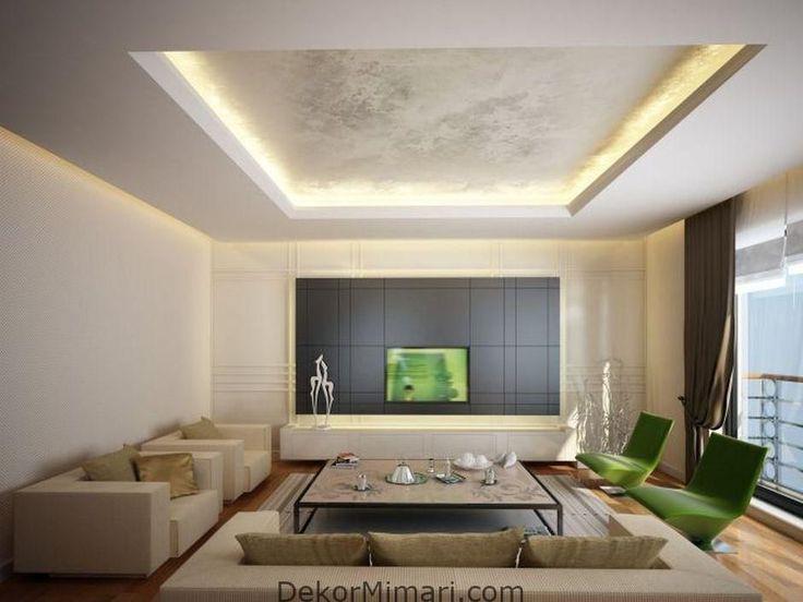 Asombroso Perfiles de pladur, modelos modernos para techos ...