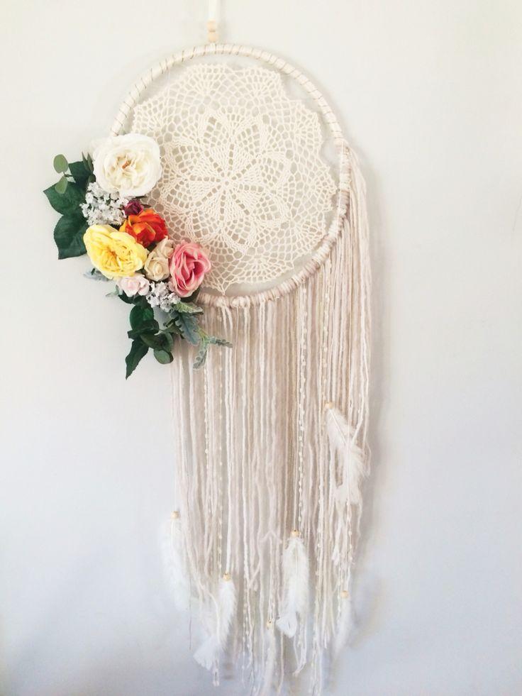Freya  $50 Flower dreamcatcher