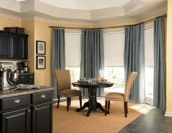 Best 25 3 Window Curtains Ideas On Pinterest Bay Window