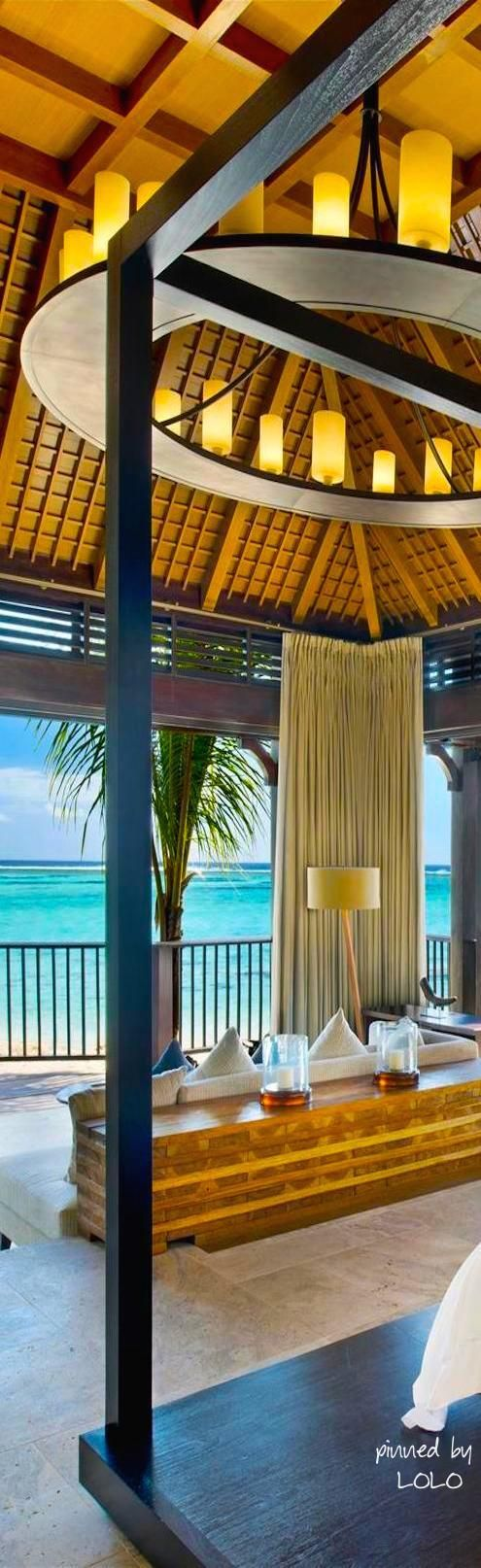 Room with a beach view at The St. Regis Mauritius Resort | LOLO