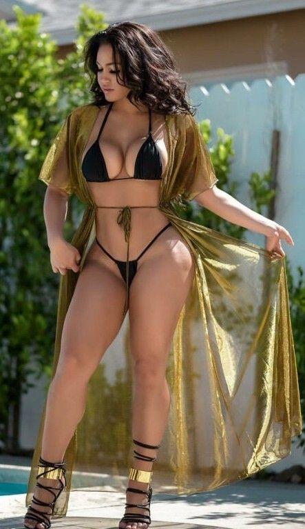 2108238004 Pin by Rivera on For Thickness Sake. Oh my lord..!!!   Swimwear, Bikinis,  Bikini girls