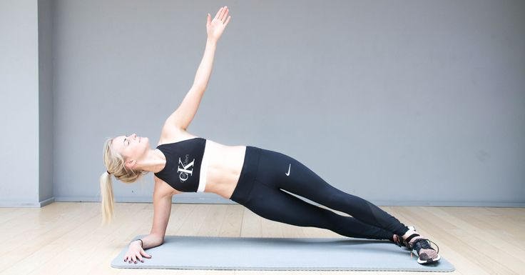 De side-plank is één van de beste oefeningen voor je core. Je traint je schuine buikspieren en ongeveer alle andere spieren in je bovenlichaam. How to Nee