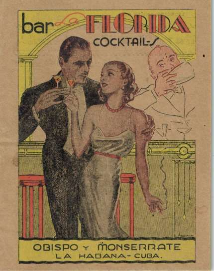 1934 Bar La Florida Cocktails