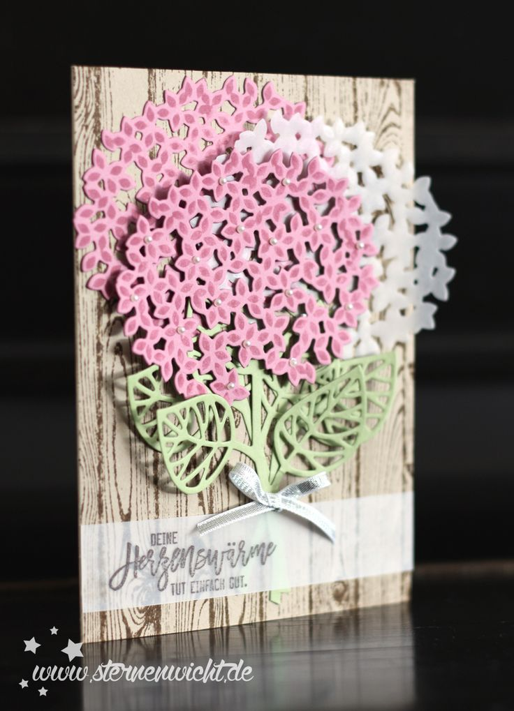 Stampin Up Thoughtful branches card. Thoughtful Branches bundle only available August 2016