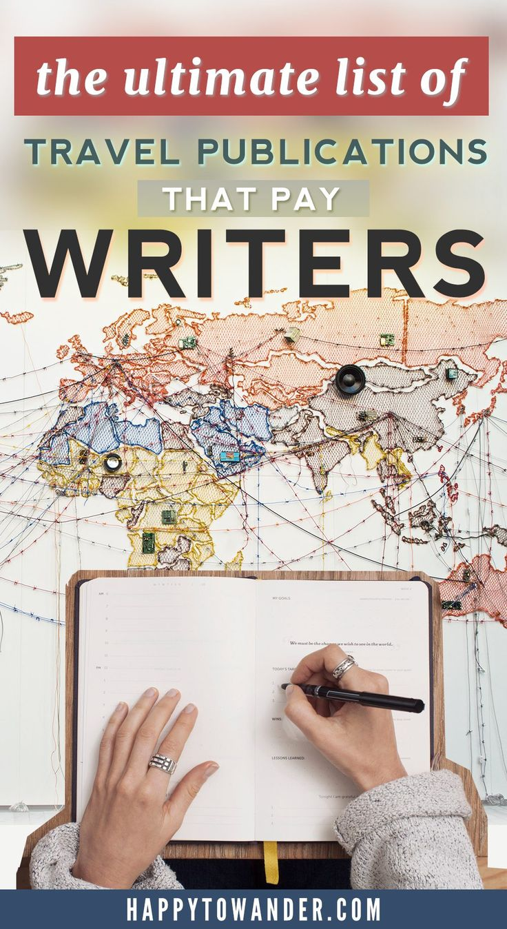 best lance writing tips images writing  aspiring travel writers need to this article featuring a detailed list of online publications