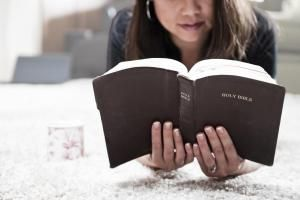 Woman Reading Bible - RonTech2000/E+/Getty Images