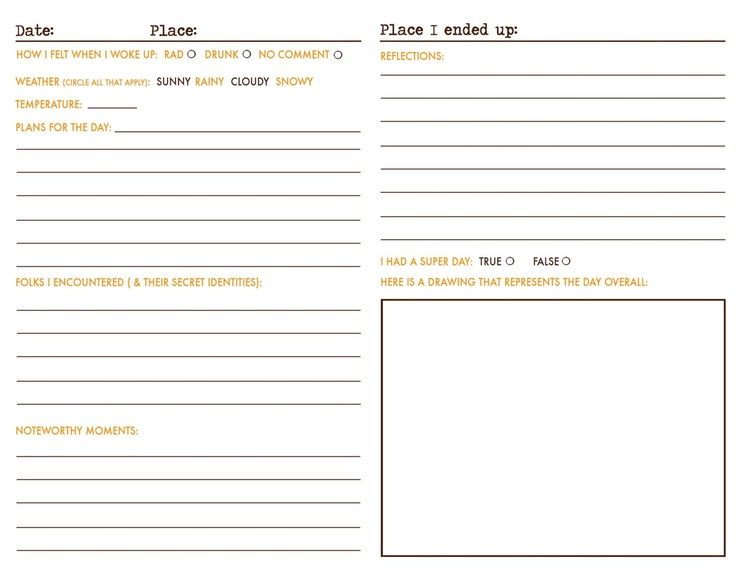 Picture Journal For Prompts For Kids