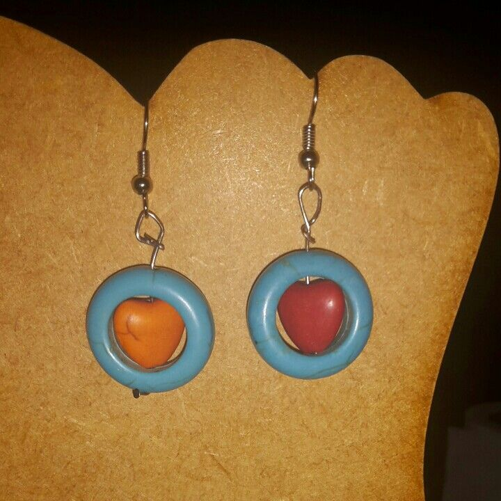 Earings i made for a friend