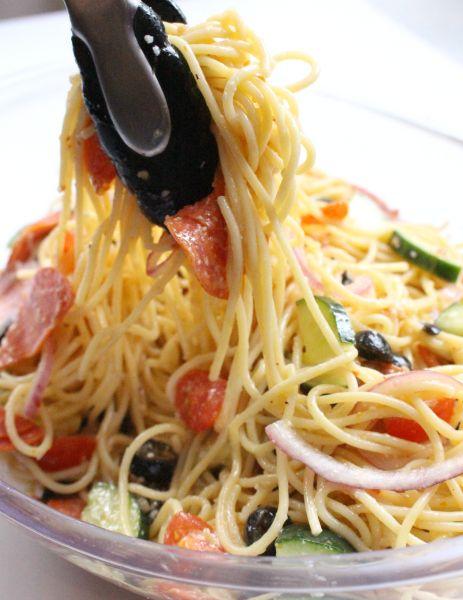 Italian Spaghetti Pasta Salad - Step 2