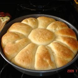 These rolls are JUST like the ones the cafeteria ladies make in the school lunch rooms! My 8 year old daughter loves the cafeteria rolls and said my recipe was even better! You cant mess these up! They are super easy and everyone will want the recipe! We eat the leftovers for breakfast or put cheese and turkey in warmed rolls for a quick lunch!