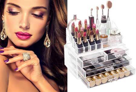 Cosmetica & Sieraden box | Een luxe organizer voor jouw make-up en accessoires