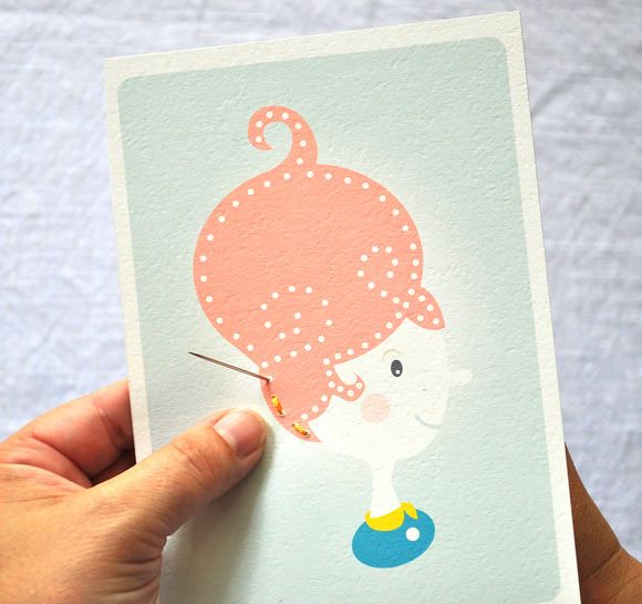 DIY Printable Sewing Cards for Kids