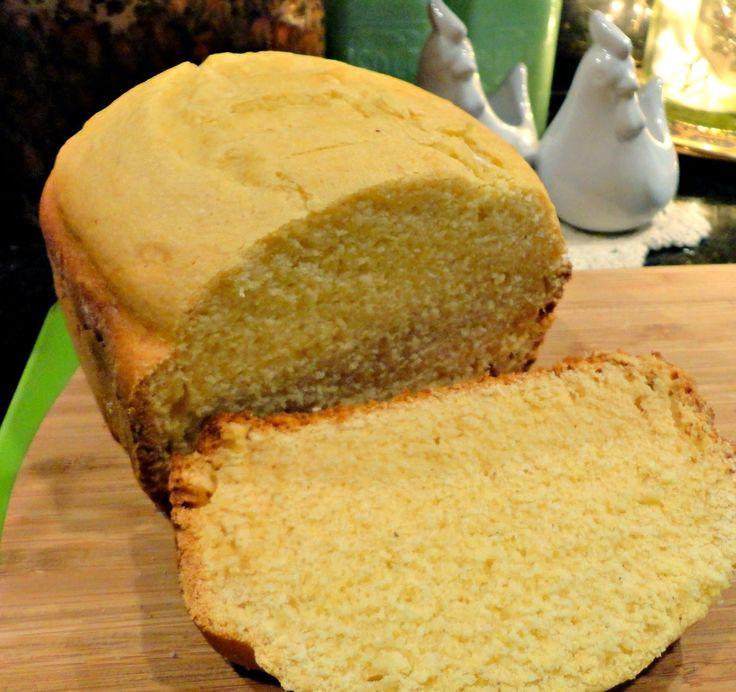 Pão Rápido de Fubá - Máquina de Pão