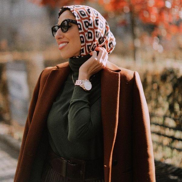 لفات حجاب اختاريها مع موضة الملابس ذات الرقبة العالية Fashion Winter Hats Hats
